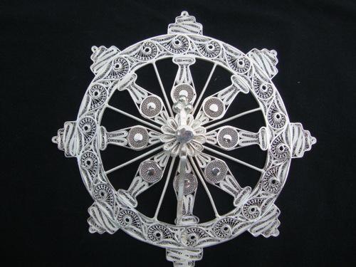 Cuttack silver filigree (Tarakasi )