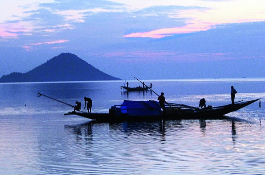 Chilika Lake  is Asia's biggest inland salt water lake
