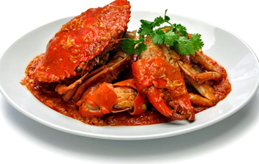 Odisha famous Crab curry