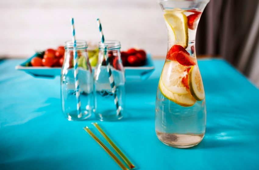 Drinking water: Healthy or bad at meals?